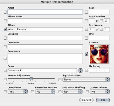 Get album artwork on iTunes, iPod and iPhone on Mac
