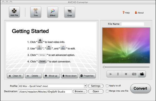 AVI to iMovie, import .avi files to iMovie '09