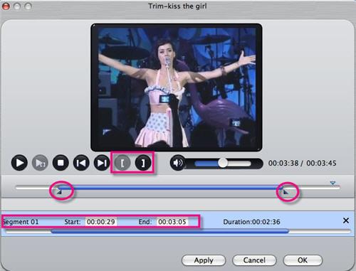 Get Sony Handycam video on Mac, iMovie