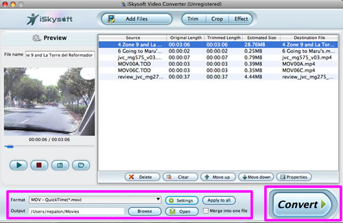Transfer Camcorder to Mac